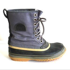 SOREL 1964 Premium CVS Winter Boot Gray Blue 7.5